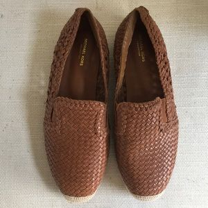 Michael Kors Collection Woven Leather Shoes